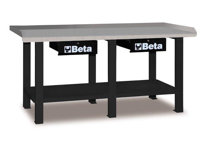 Banc de lucru cu 2 sertare BETA C56 G