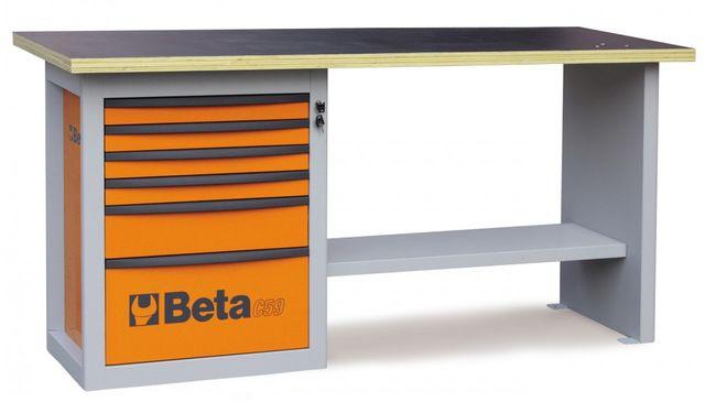 Banc de lucru cu 6 sertare BETA C59A