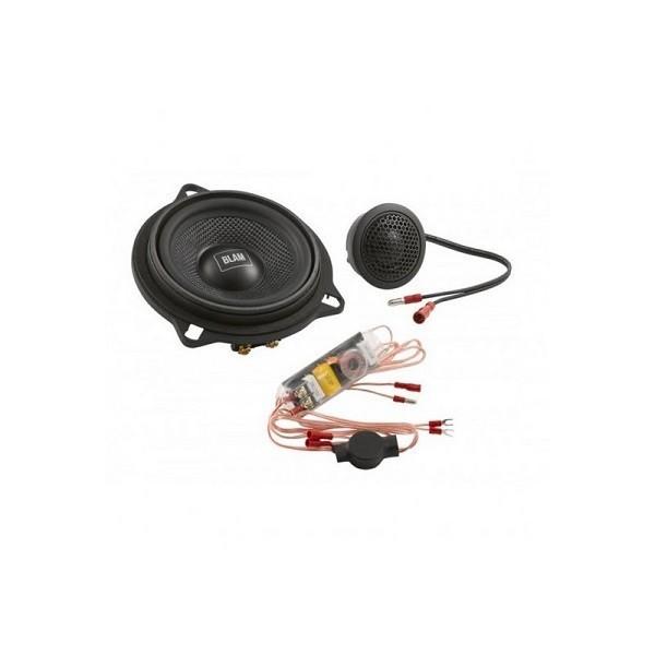 Boxe auto componente sistem Blam BM 100S, 2 cai, dedicate BMW, 10 cm, 60W RMS, set 2 difuzoare