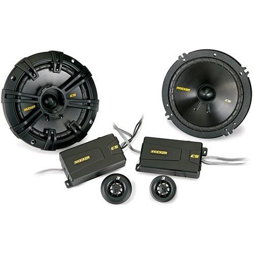 Boxe auto pe componente Kicker 40CSS654, 16.5cm, 100W, set 2 difuzoare