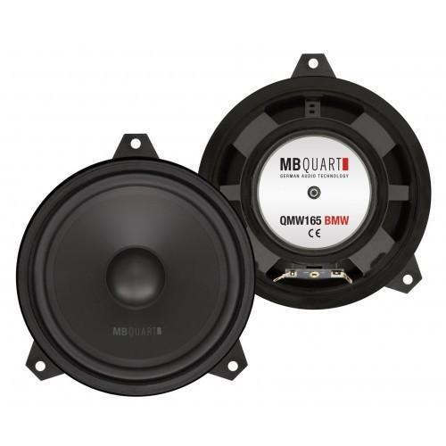 Boxe auto woofer  pentru BMW MB Quart QMW-165 BMW, 16.5 cm, 100W RMS, set 2 difuzoare
