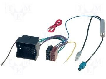 Cablaj adaptor Seat-ISO cu adaptor Fakra 55-240-02