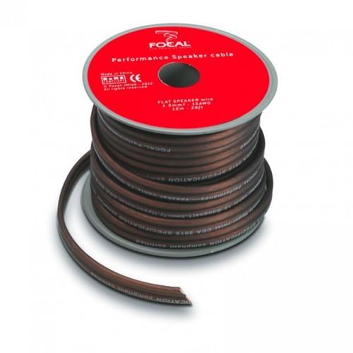 Cablu difuzoare plat Focal 2x1,5mm, 12m
