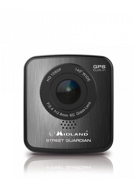 Camera auto DVR Midland STREET GUARDIAN GPS full HD 1080p cod C1174.01