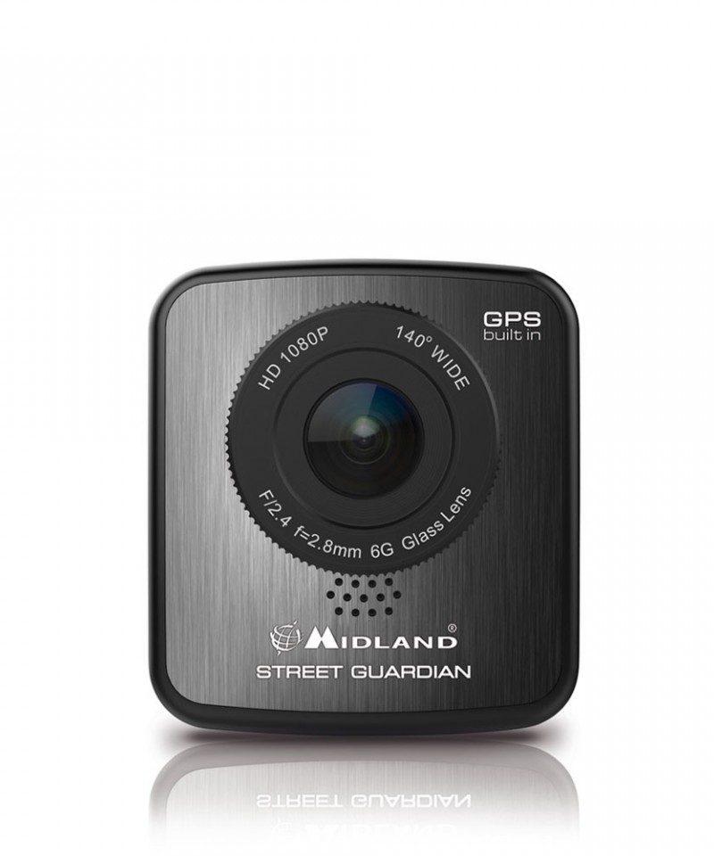 Camera auto DVR Midland STREET GUARDIAN GPS full HD 1080p cod C1174.01