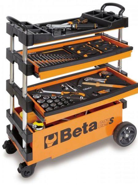 Carucior mobil cu polite tip sertare BETA C27 S