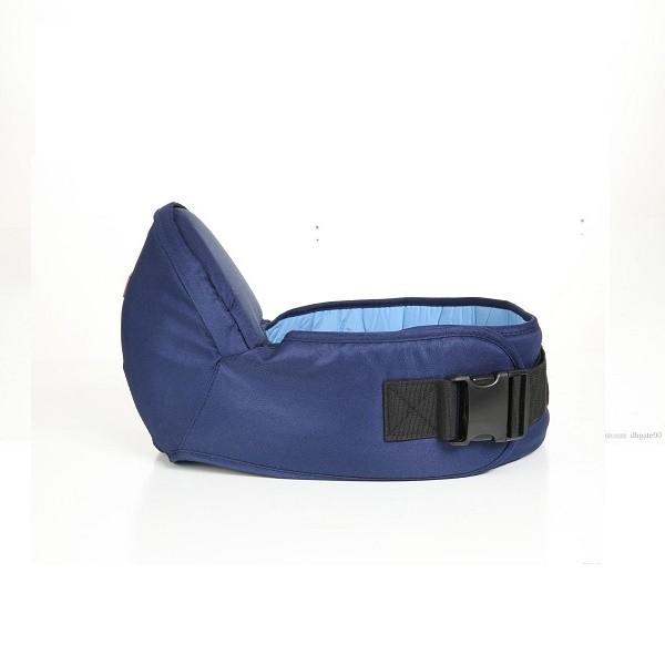 Centura pentru talie de tip scaun pentru bebelusi CMC Baby Carrier, recomandat copiilor intre 4 luni - 18 luni, Albastru