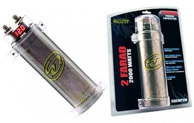 Condensator auto 2F, Soundquest cu afisaj digital
