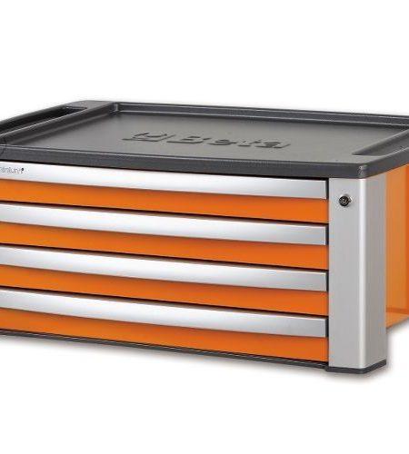 Cutie de scule cu 4 sertare portabila pentru C39, orange BETA C39 T-O