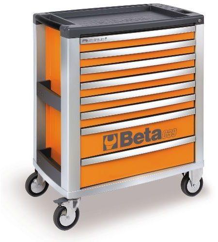 Dulap mobil cu 8 sertare din aluminiu, orange BETA C39 O/8