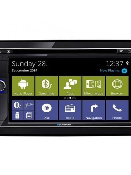 DVD player Blaupunkt Cape Town 945, 4x50W, USB, Bluetooth, Wi-FI, Navigatie GPS