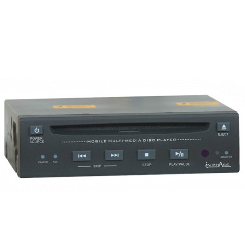 DVD player pentru montaj ascuns In phAase IVM DVD