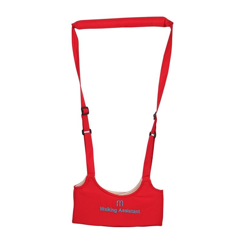 Ham de siguranta pentru mersul pe jos asistat CMC Keeper Walking, cu curea ajustabila, recomandat copiilor intre 8 - 20 luni, Rosu