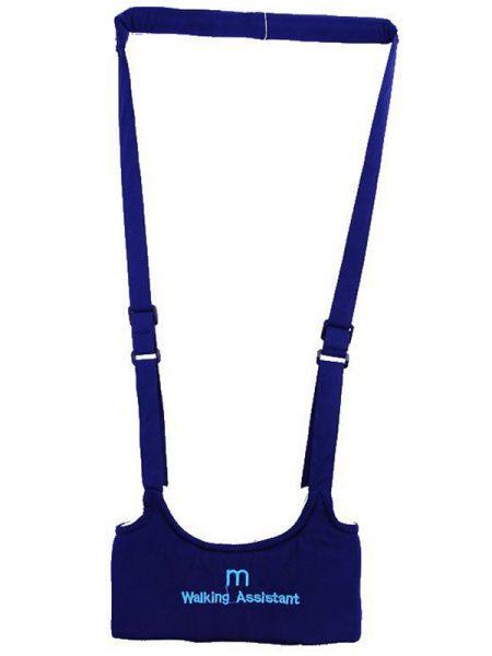 Ham de siguranta pentru mersul pe jos asistat CMC Keeper Walking, cu curea ajustabila, recomandat copiilor intre 8 - 20 luni, Albastru