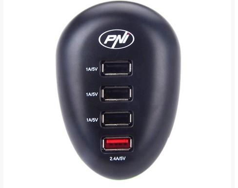 Incarcator USB PNI HC41 pentru telefoane, tablete, aparate foto
