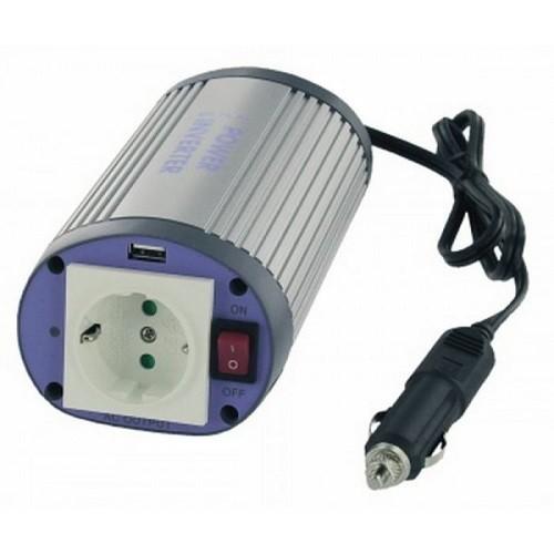 Invertor de tensiune cu USB Albrecht 150W 24V Cod 47870