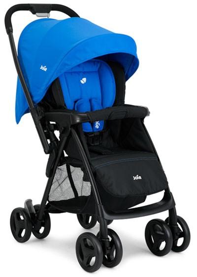 Joie Carucior 2 in 1 cu maner reversibil Mirus Travel System Blue