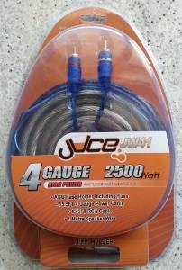 Kit cablu amplificator Juice JW 41, 21mm