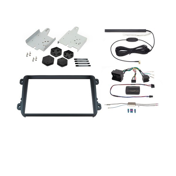 Kit de instalare Alpine KIT-8VWX , pentru  X800D-U (VW: CC , EOS , Golf VI , Jetta VI, Passat, Polo V , Scirocco III )