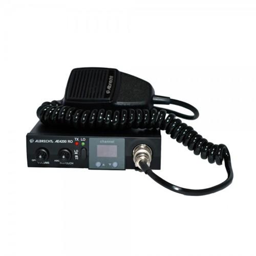 Kit Statie radio CB Albrecht 4200 RO ASQ + Antena TTi CB X14S
