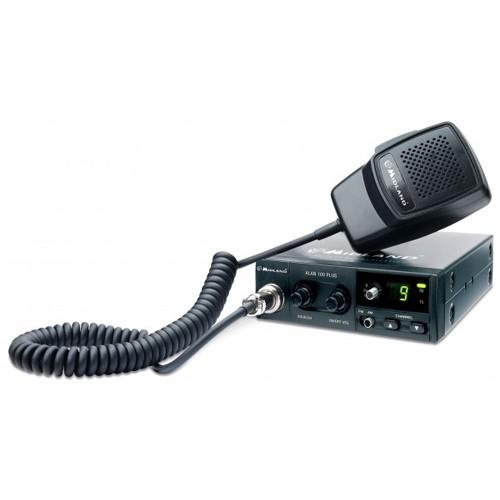 Kit Statie radio CB Midland Alan 100 + Antena Midland 18-244M cu magnet