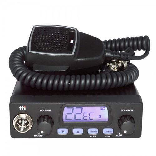 Kit Statie radio CB TTi TCB-1000 + Antena TTi CB X14S