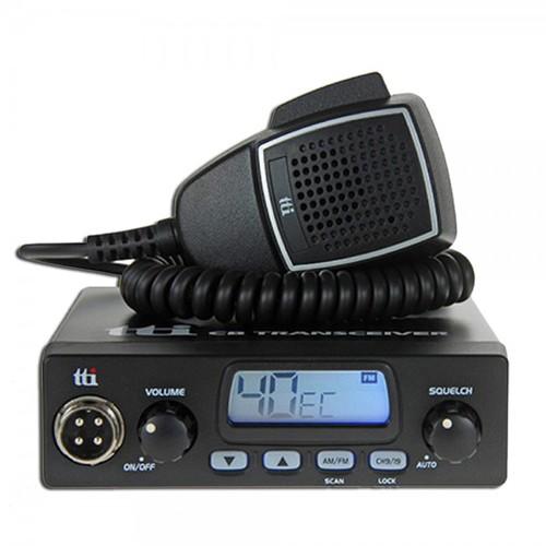 Kit Statie radio CB TTi TCB-550 + Antena Midland 18-244M