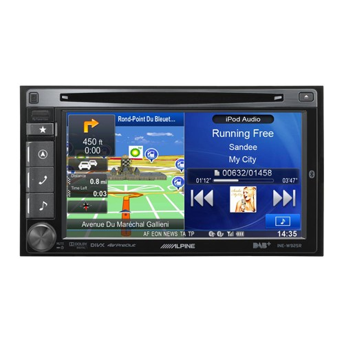 "Multimedia player auto Alpine INE-W925R, 2DIN, diagonala 6.1"", Bluetooth, USB, navigatie FULL EUROPE"