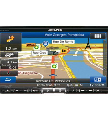 "Multimedia player auto Alpine INE-W987D, 2DIN, diagonala 7"", Bluetooth, USB, navigatie FULL Europe"