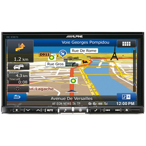 "Multimedia player auto Alpine INE-W987D, 2DIN, diagonala 7"", Bluetooth, USB, navigatie FULL Europe"