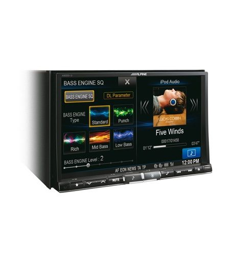 "Multimedia player auto Alpine X800D-U, 2DIN, diagonala 8"", Bluetooth, USB, navigatie FULL Europe"