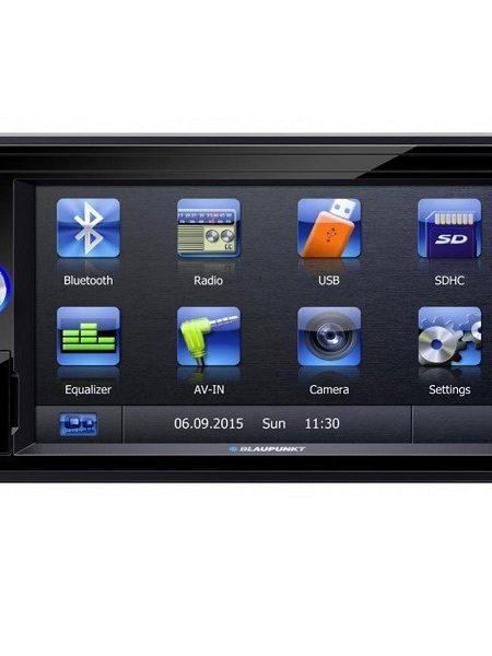 "Multimedia player auto Blaupunkt San Marino 330 , 2 DIN, Touchscreen,GPS,CD/DVD,SD,USB,Bluetooth, 4X45W,ecran 6.2"", Model 2016"