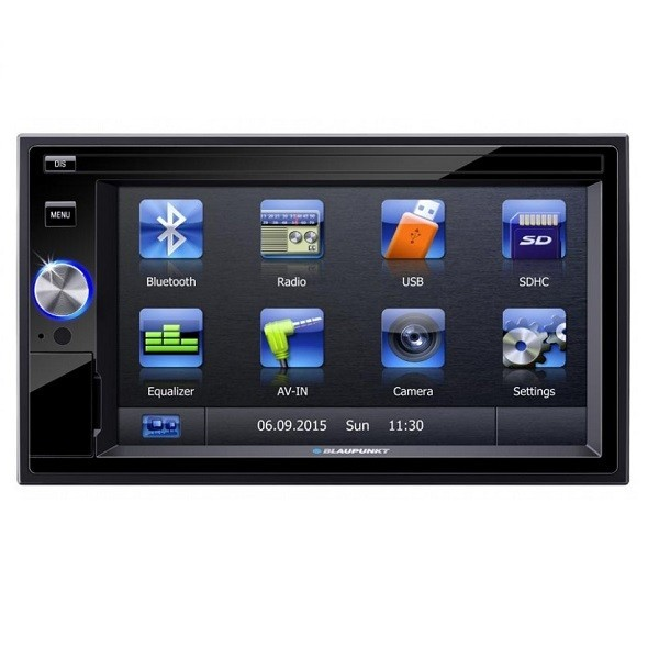 "Multimedia player auto Blaupunkt San Marino 330 , 2 DIN, Touchscreen,GPS,CD/DVD,SD,USB,Bluetooth, 4X45W,ecran 6.2"", Model 2016"