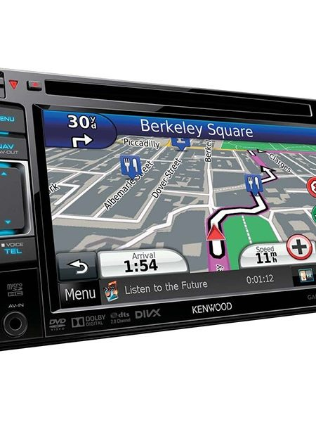 Multimedia player auto Kenwood DNX-5230BT, 2DIN, USB, AUX, SD, Bluetooth, iPod, CD, 4x50W RMS, Touchscreen, ecran 6.1""