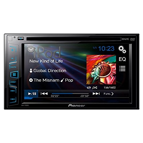 Multimedia player auto Pioneer AVH-170DVD, 2DIN, CD/DVD,USB, AUX, iPod, 4x50w, ecran 6.2''