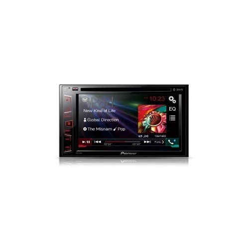 Multimedia player auto Pioneer AVH-270BT, 2DIN, CD/DVD,USB, AUX, iPod,Bluetooth, 4x50w, ecran 6.2''