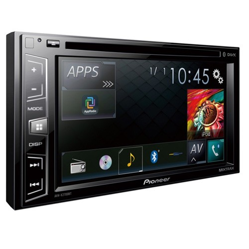 Multimedia player auto Pioneer AVH-X2700BT, 2DIN, CD/DVD,USB, AUX, iPod/iPhone, Bluetooth, 4x50w, ecran 6.2''