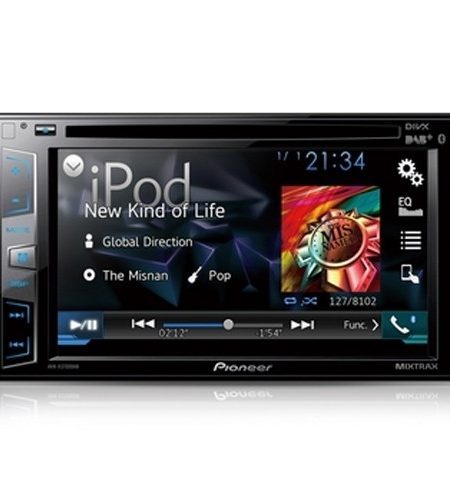 Multimedia player auto Pioneer AVH-X3700DAB, 2DIN, CD/DVD,USB, AUX, iPod/iPhone, Bluetooth, 4x50w, ecran 6.2''