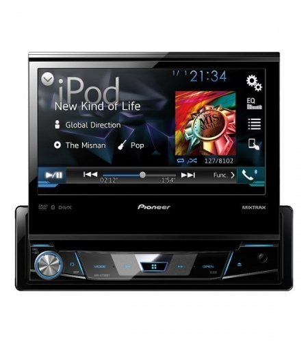 Multimedia player auto Pioneer AVH-X7800BT, 1DIN, CD/DVD,USB, AUX, iPod/iPhone, Bluetooth, 4x50w, ecran 7.0''