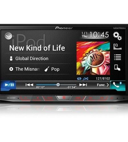 Multimedia player auto Pioneer AVH-X8700BT, 2DIN, CD/DVD,USB, AUX, iPod/iPhone, Bluetooth, 4x50w, ecran 7.0''