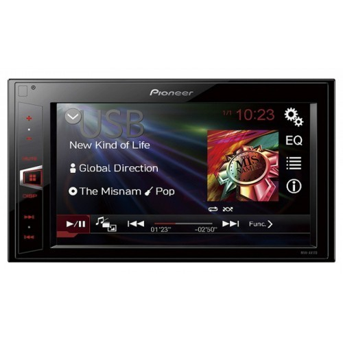 Multimedia player auto Pioneer MVH-AV180, 2DIN,USB, AUX, iPod, 4X50W, ecran 6.2''
