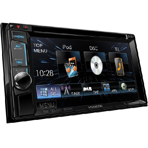 Multimedia player Kenwood DDX-4015DAB, Bluetooth, USB, iPod, 4x50W, ecran 6.2""
