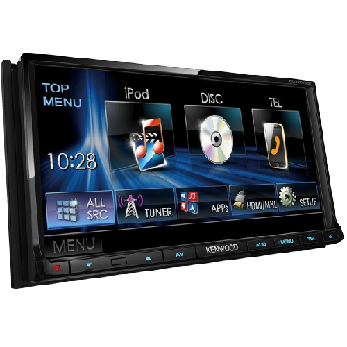 Multimedia player Kenwood DDX-7015BT, Bluetooth, USB, iPod, 4x50W, ecran 7.0""