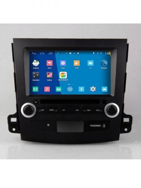 Navigatie auto dedicata Edotec EDT-M056 Dvd Auto Mitsubishi Outlander Gps Android Navigatie Bluetooth