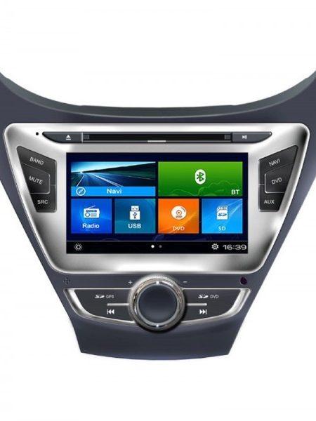Navigatie dedicata Edotec EDT-K092 Dvd Auto Multimedia Gps Hyundai Elantra Navigatie Tv