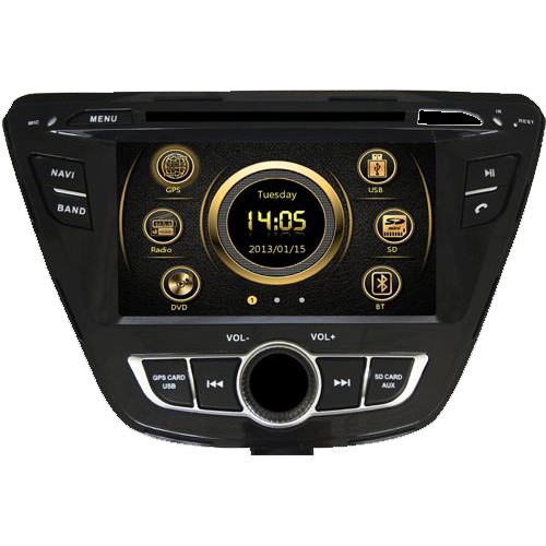 Navigatie dedicata pentru Hyundai Elantra , Car Vision DNB-Elantra 2014