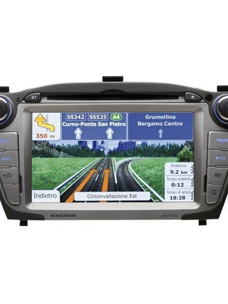 Navigatie dedicata pentru Hyundai iX35 ,Macrom M-OF7050
