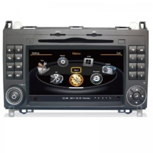 Navigatie dedicata pentru Mercedes Clasa A W169, Clasa B W245, Sprinter W906, VIANO W639, VITO, Crafter , Edotec EDT-C068, sistem de operare windows