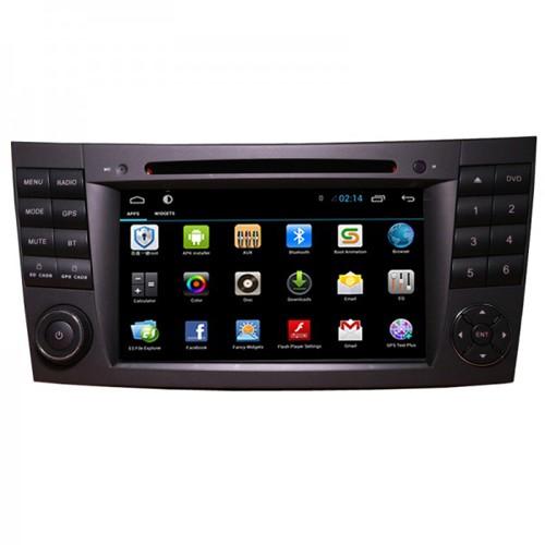 Navigatie dedicata pentru Mercedes Clasa E W211 2002-2008, Clasa CLS W219 2005-2010EDOTEC G090, sistem de operare Android