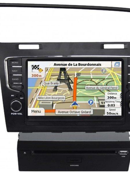 Navigatie dedicata pentru Volkswagen Golf 7, CarVision DNB - WV Golf 7